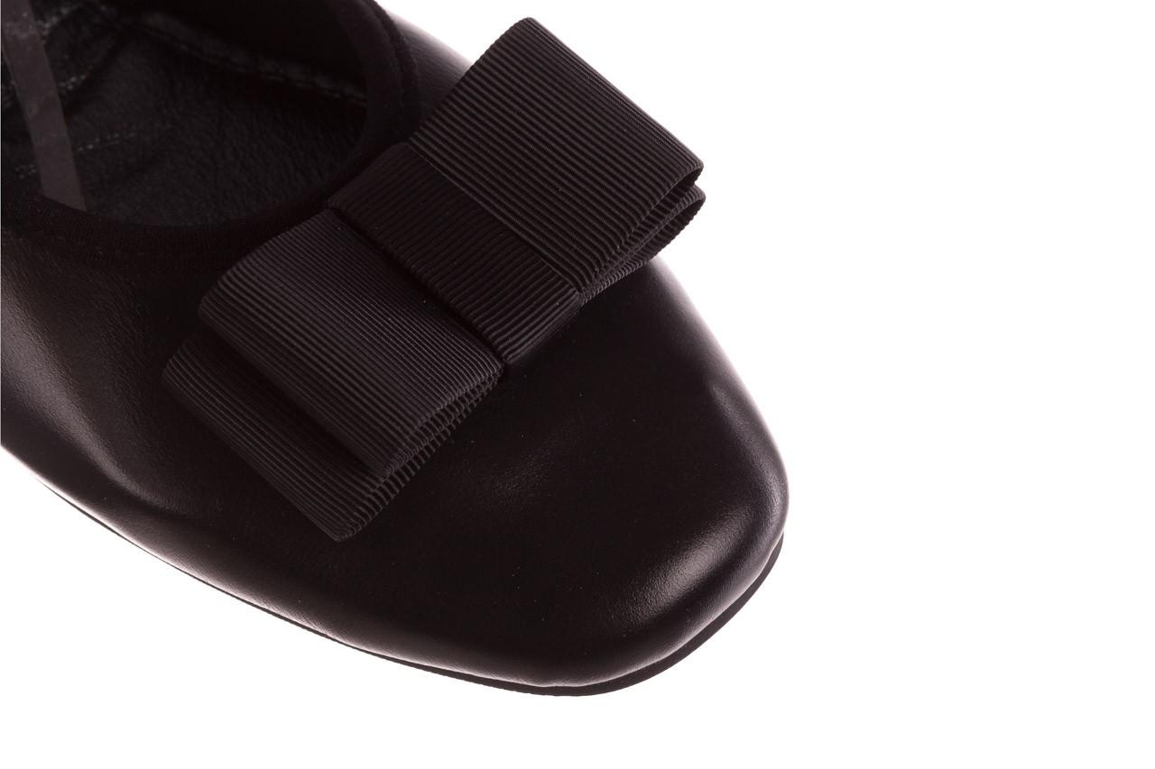 Baleriny viscala 11870.26 czarny, skóra naturalna - viscala - nasze marki 15