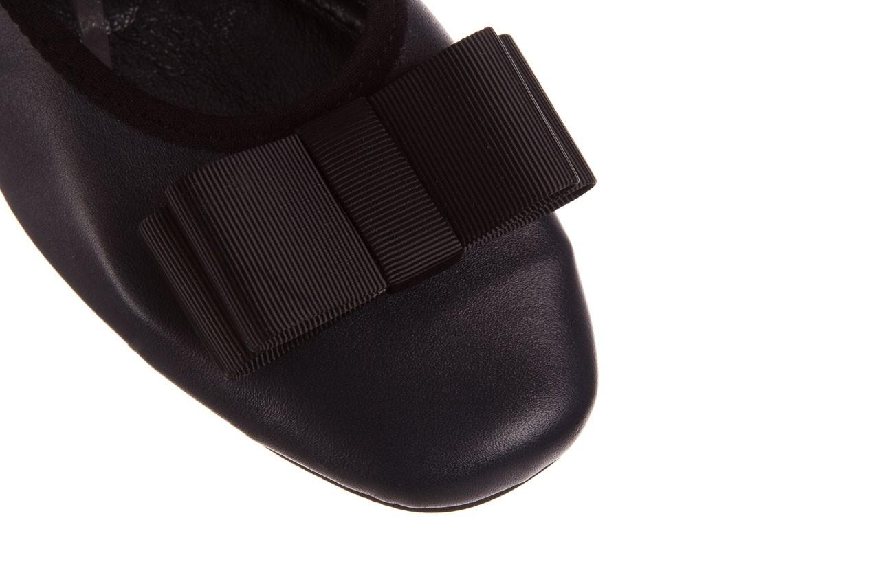 Baleriny viscala 11870.25 ciemny, granat, skóra naturalna - baleriny - buty damskie - kobieta 15