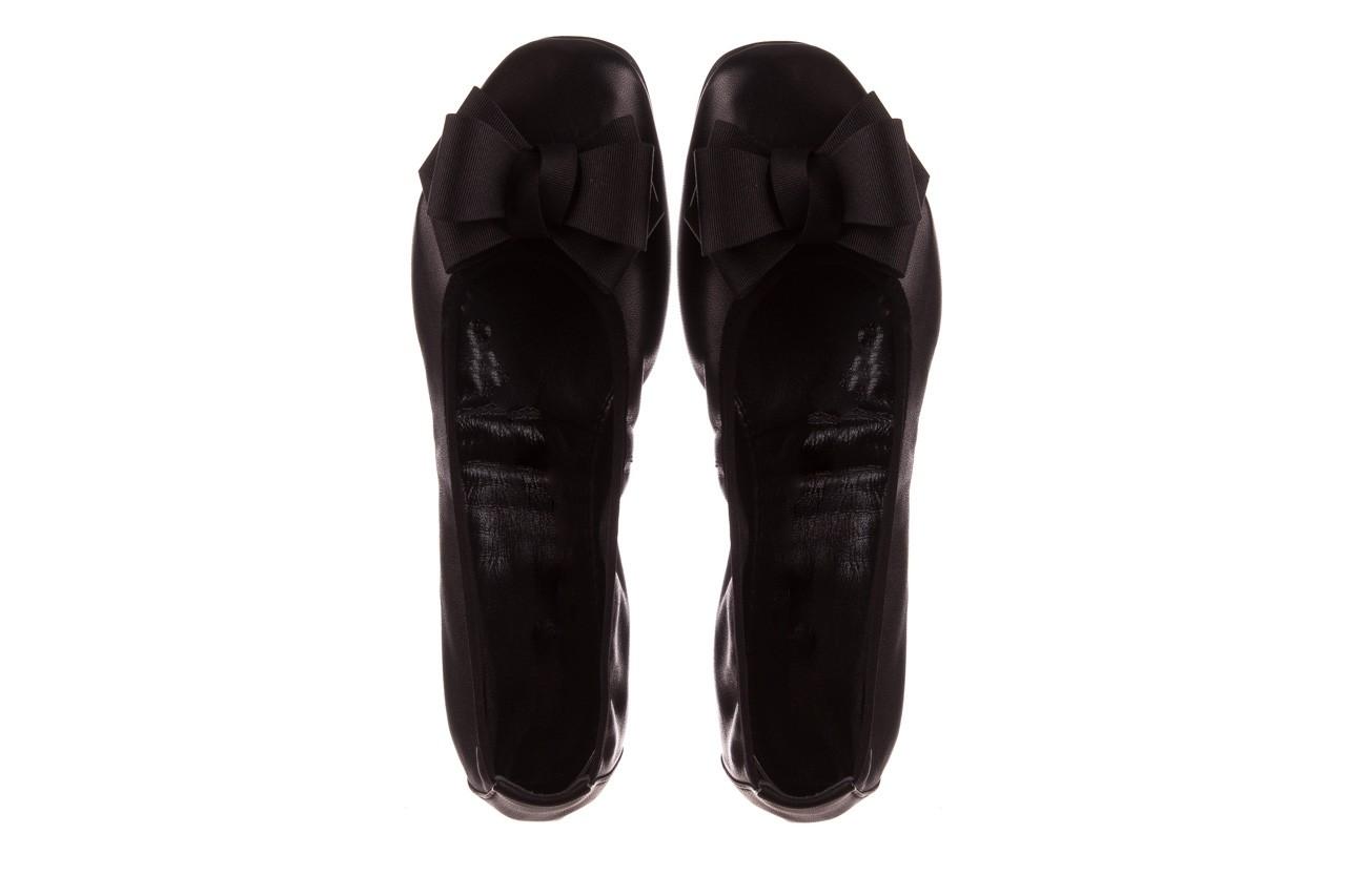 Baleriny viscala 11870.23 czarny, skóra naturalna - viscala - nasze marki 14