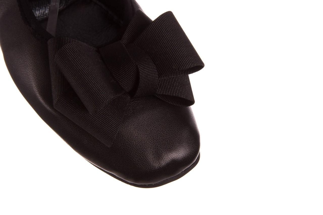 Baleriny viscala 11870.23 czarny, skóra naturalna - viscala - nasze marki 15