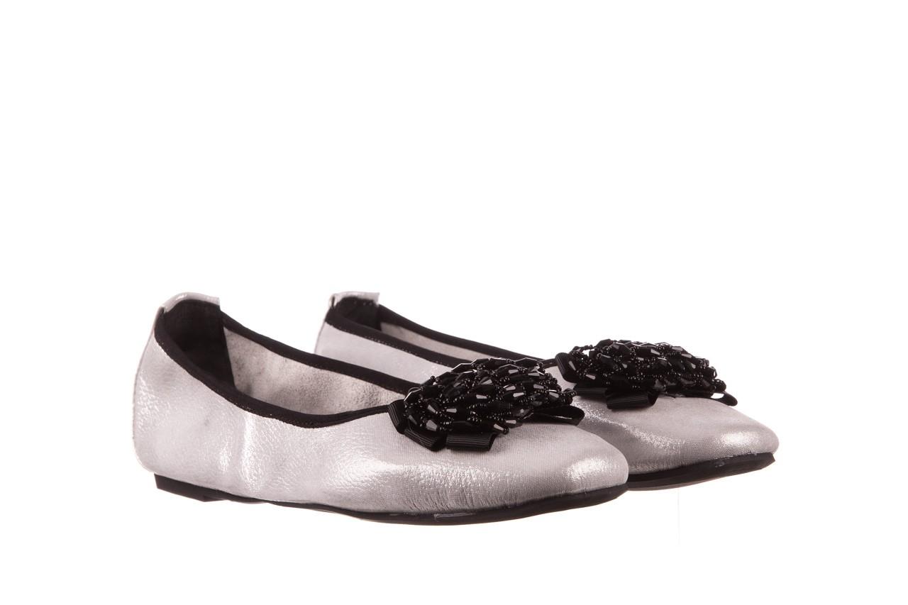 Baleriny viscala 11870.37 biały perłowy, skóra naturalna - baleriny - buty damskie - kobieta 11