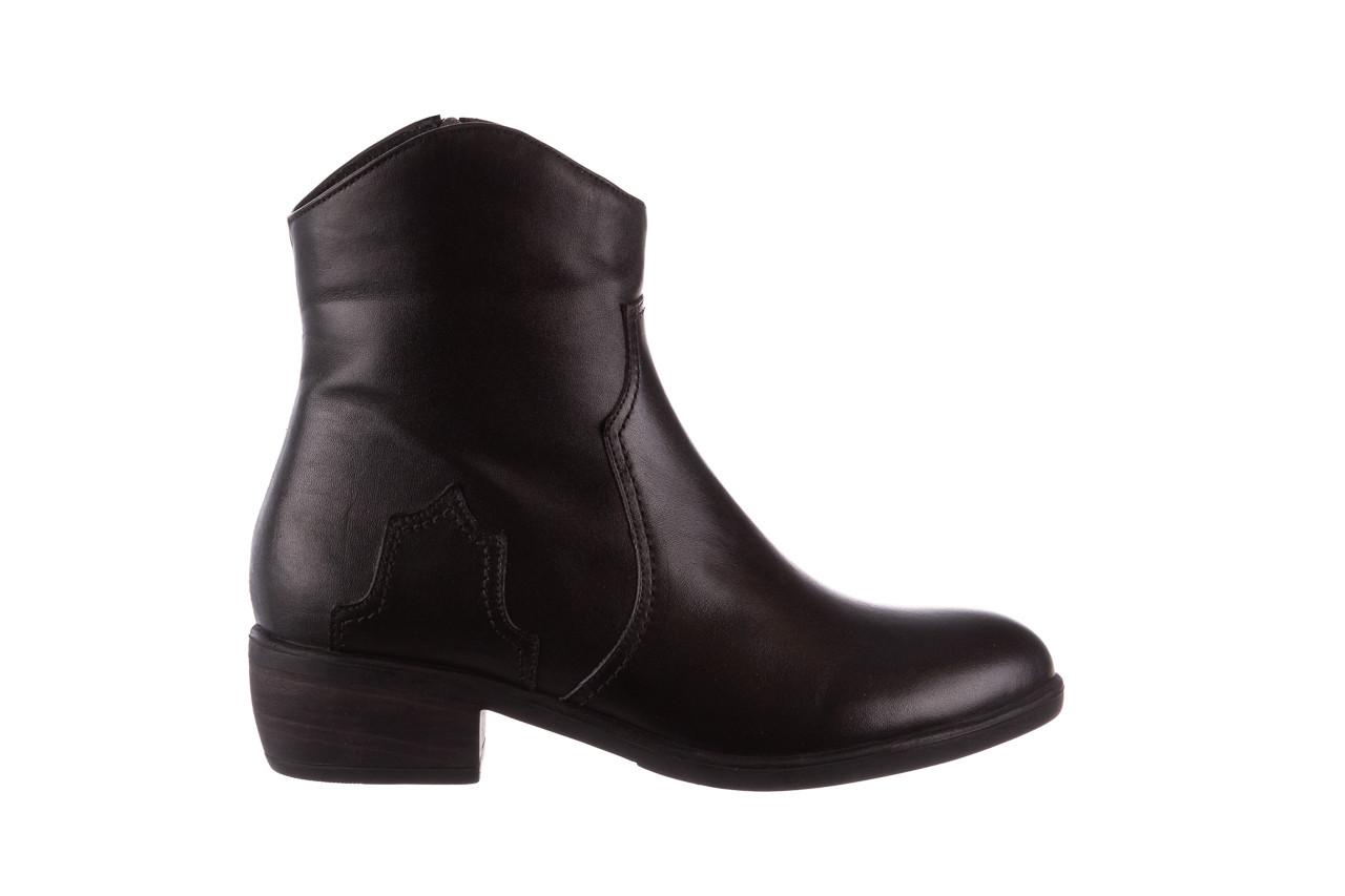Botki bayla-196 147802 2008 196003, czarny, skóra naturalna  - skórzane - botki - buty damskie - kobieta 9