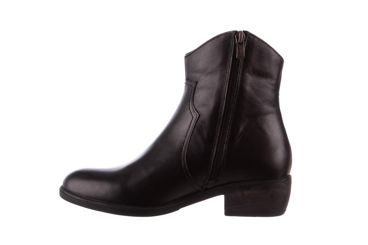Botki bayla-196 147802 2008 196003, czarny, skóra naturalna  - skórzane - botki - buty damskie - kobieta 12