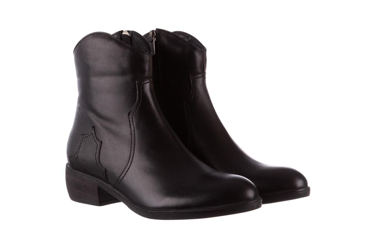 Botki bayla-196 147802 2008 196003, czarny, skóra naturalna  - skórzane - botki - buty damskie - kobieta 10