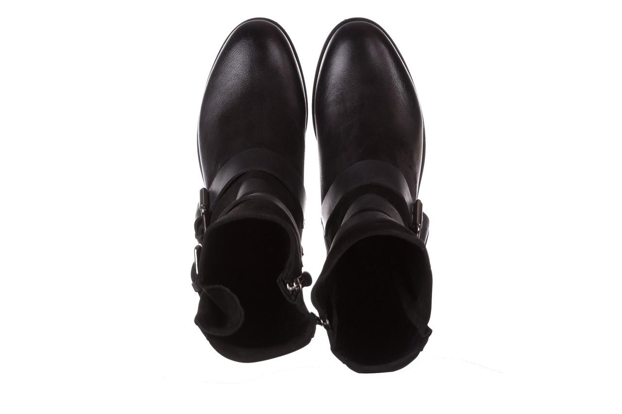 Botki bayla-161 050-09435 black, czarny, skóra naturalna  - skórzane - botki - buty damskie - kobieta 16