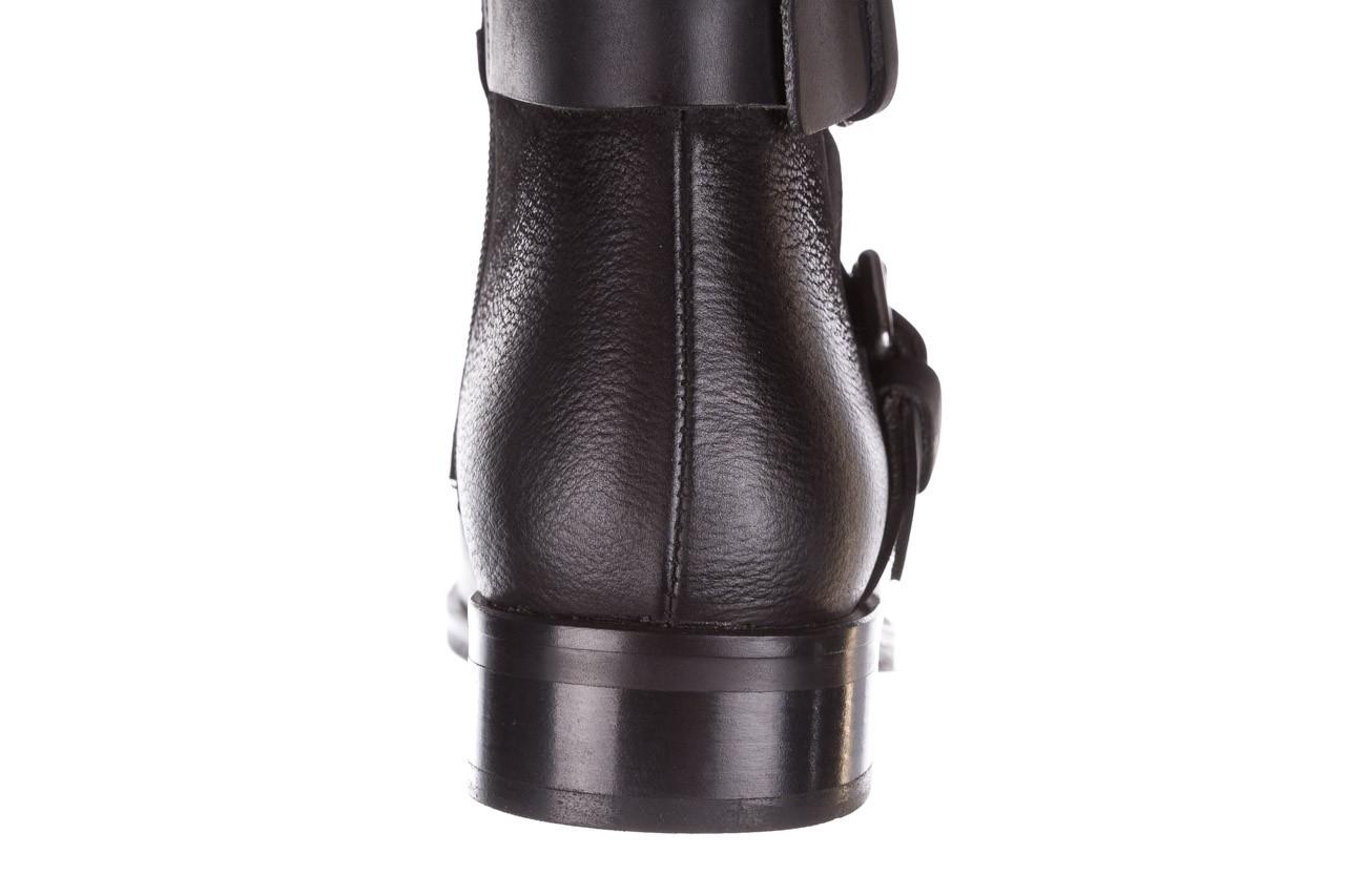 Botki bayla-161 050-09435 black, czarny, skóra naturalna  - skórzane - botki - buty damskie - kobieta 21