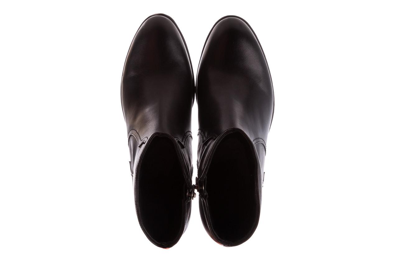 Botki bayla-196 147802 2008 196003, czarny, skóra naturalna  - skórzane - botki - buty damskie - kobieta 14