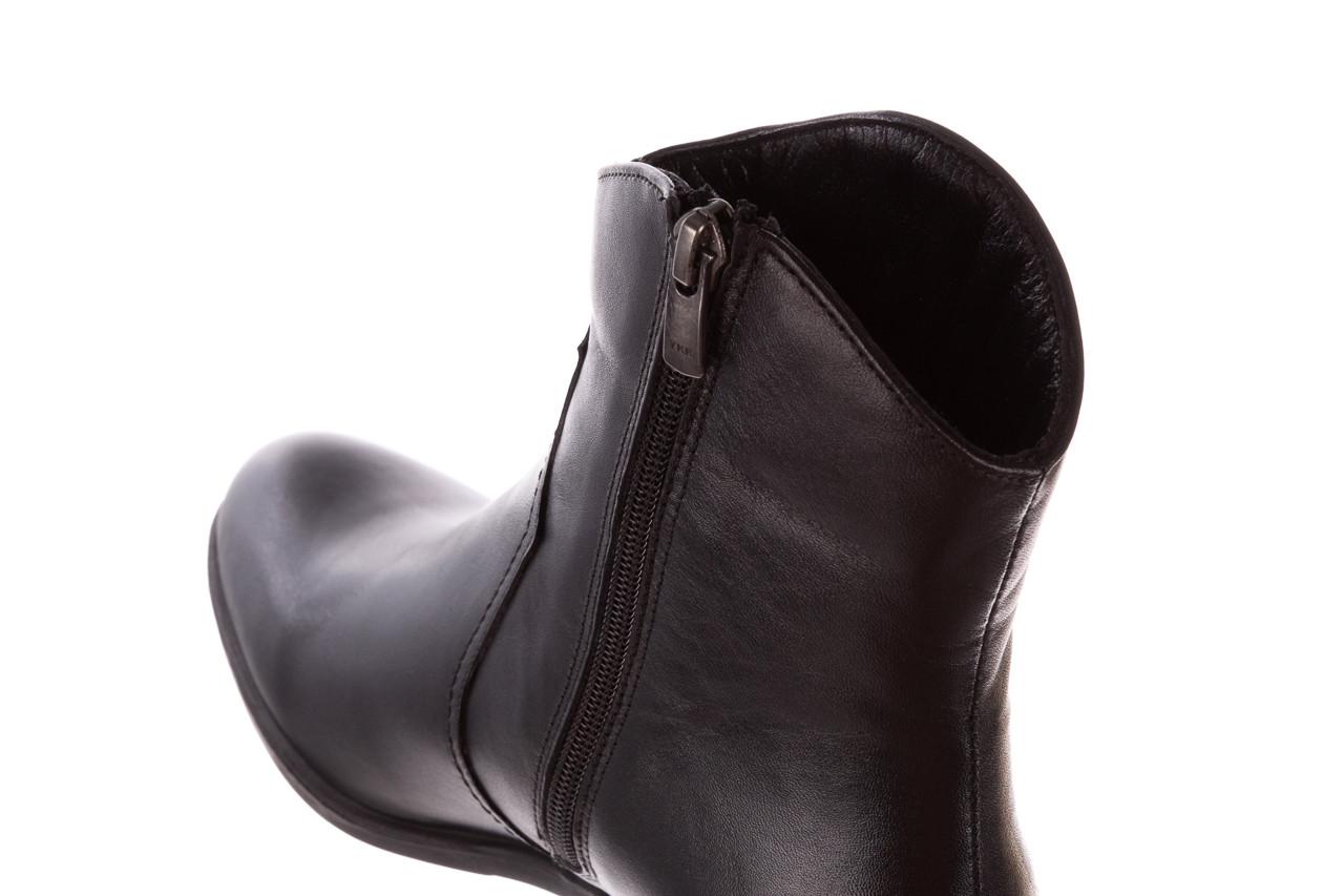 Botki bayla-196 147802 2008 196003, czarny, skóra naturalna  - skórzane - botki - buty damskie - kobieta 17
