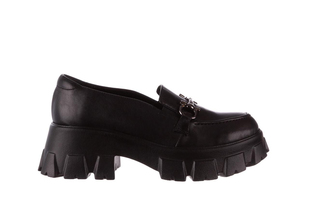 Półbuty bayla-196 20ef126-06 d44 196021, czarny, skóra naturalna  - półbuty - buty damskie - kobieta 10