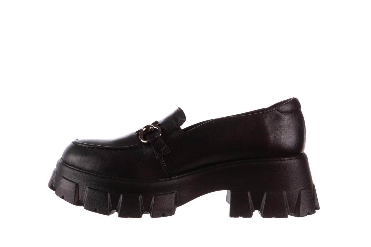 Półbuty bayla-196 20ef126-06 d44 196021, czarny, skóra naturalna  - półbuty - buty damskie - kobieta 13
