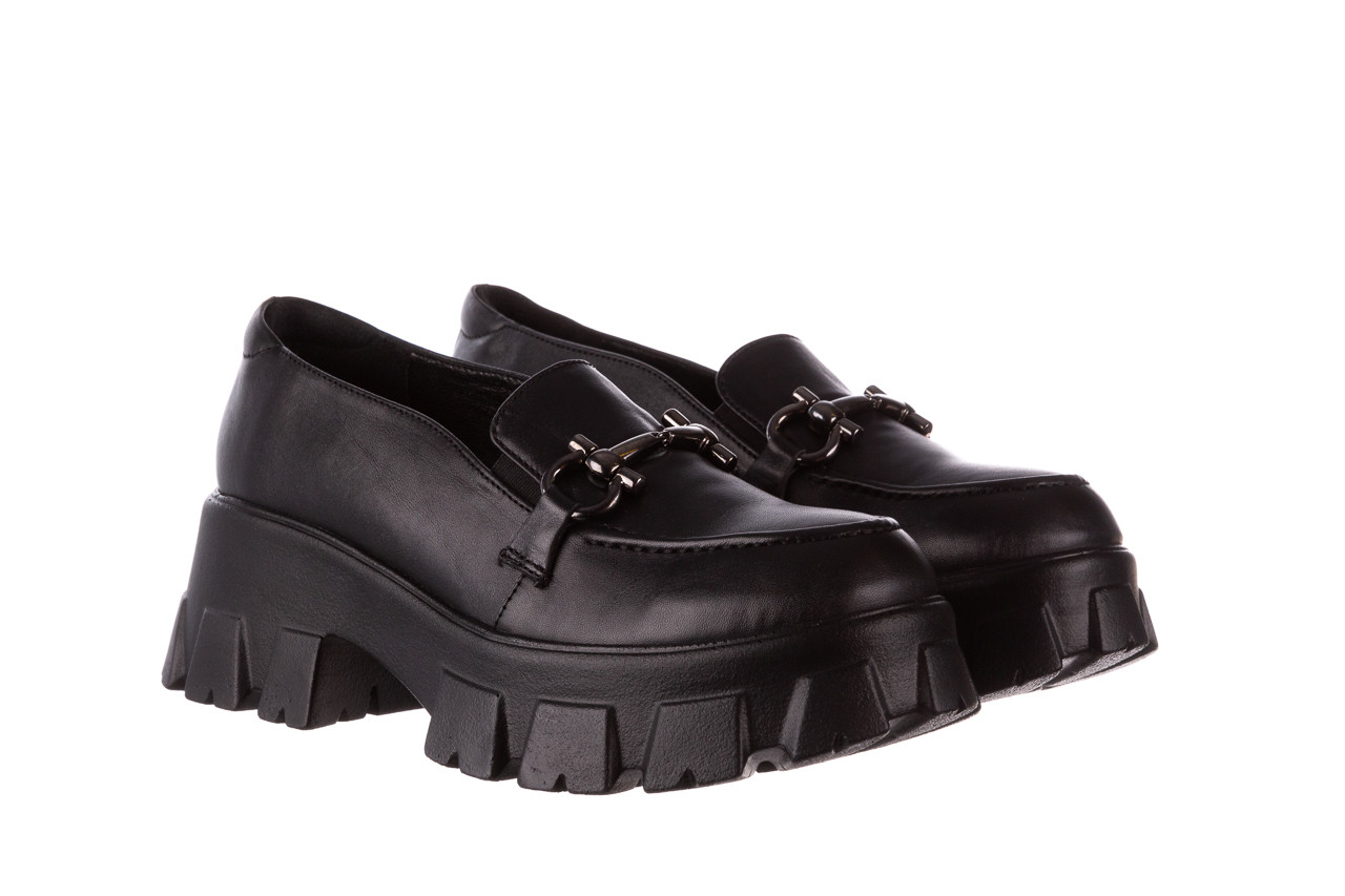 Półbuty bayla-196 20ef126-06 d44 196021, czarny, skóra naturalna  - półbuty - buty damskie - kobieta 11