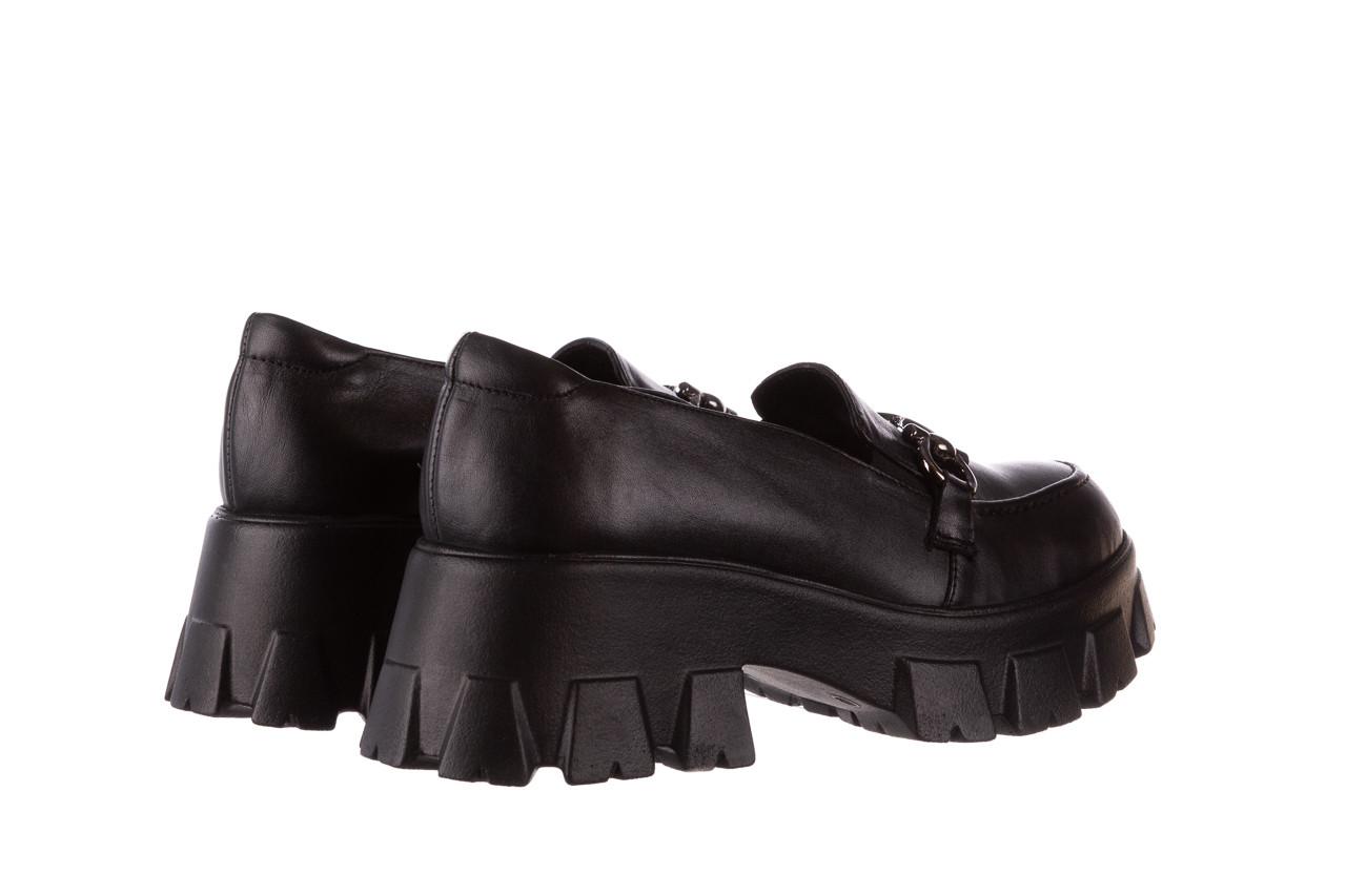 Półbuty bayla-196 20ef126-06 d44 196021, czarny, skóra naturalna  - półbuty - buty damskie - kobieta 14