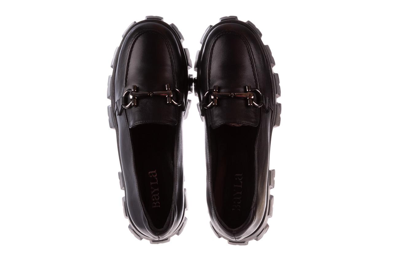 Półbuty bayla-196 20ef126-06 d44 196021, czarny, skóra naturalna  - półbuty - buty damskie - kobieta 15