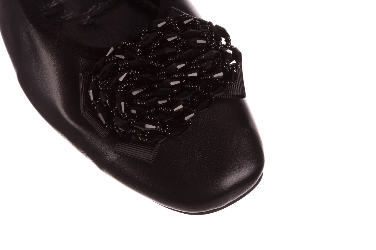 Baleriny viscala 11870.58 czarny, skóra naturalna - viscala - nasze marki 15