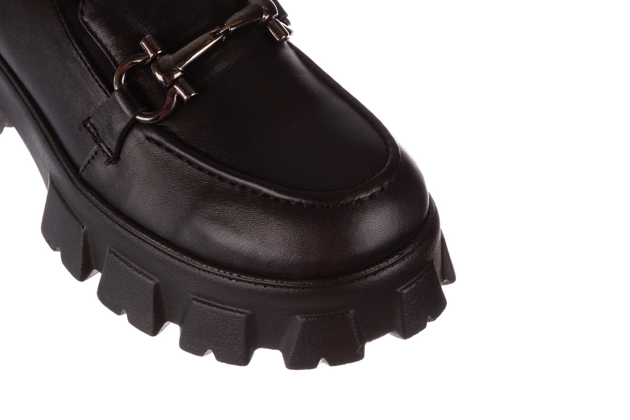 Półbuty bayla-196 20ef126-06 d44 196021, czarny, skóra naturalna  - półbuty - buty damskie - kobieta 16
