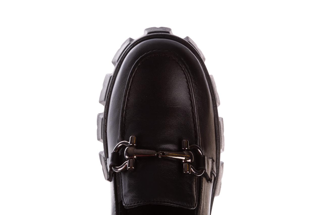 Półbuty bayla-196 20ef126-06 d44 196021, czarny, skóra naturalna  - półbuty - buty damskie - kobieta 17