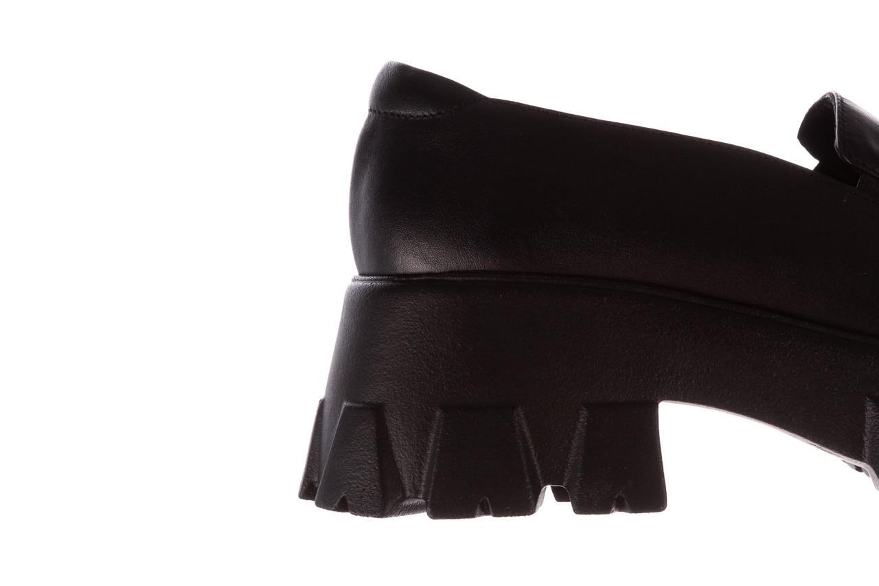 Półbuty bayla-196 20ef126-06 d44 196021, czarny, skóra naturalna  - półbuty - buty damskie - kobieta 18