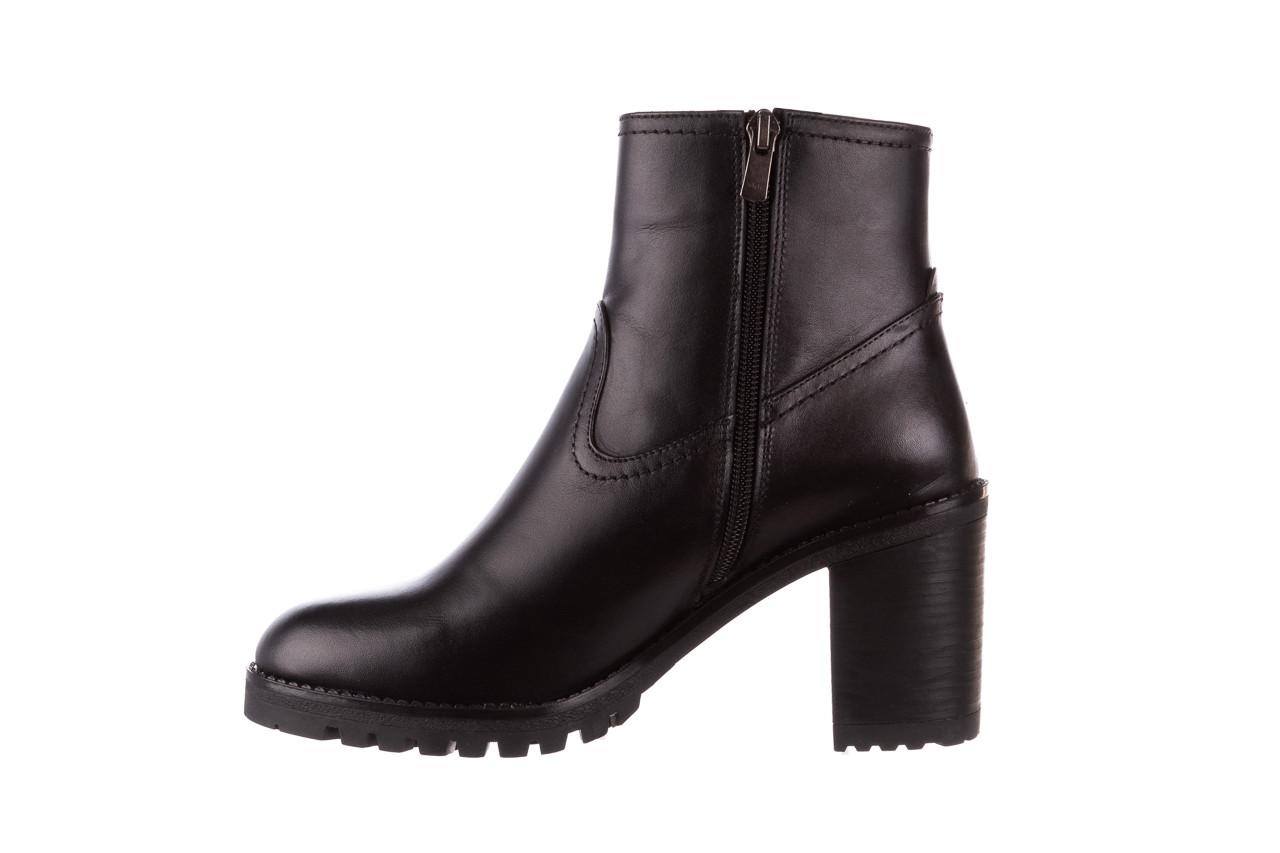 Botki bayla-196 969608 siy soft 196033, czarny, skóra naturalna  - skórzane - botki - buty damskie - kobieta 13