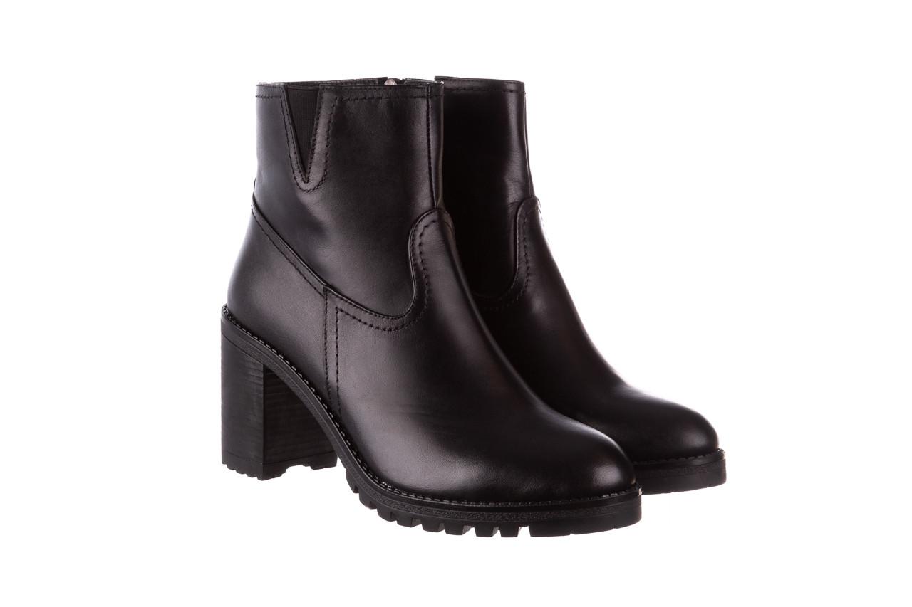 Botki bayla-196 969608 siy soft 196033, czarny, skóra naturalna  - skórzane - botki - buty damskie - kobieta 11