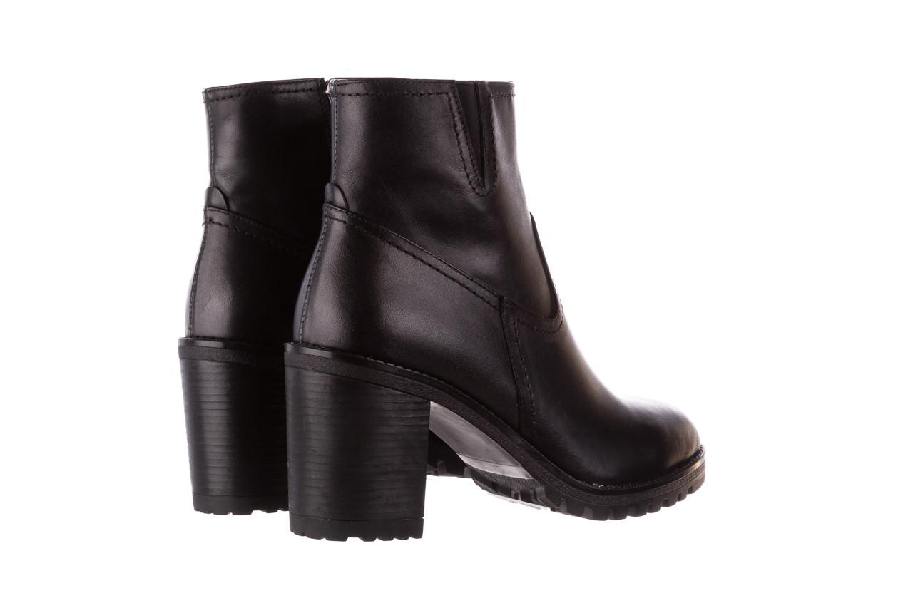 Botki bayla-196 969608 siy soft 196033, czarny, skóra naturalna  - skórzane - botki - buty damskie - kobieta 14