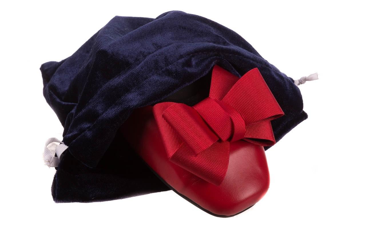 Baleriny viscala 11870.32 czerwony, skóra naturalna - skórzane - baleriny - buty damskie - kobieta 17