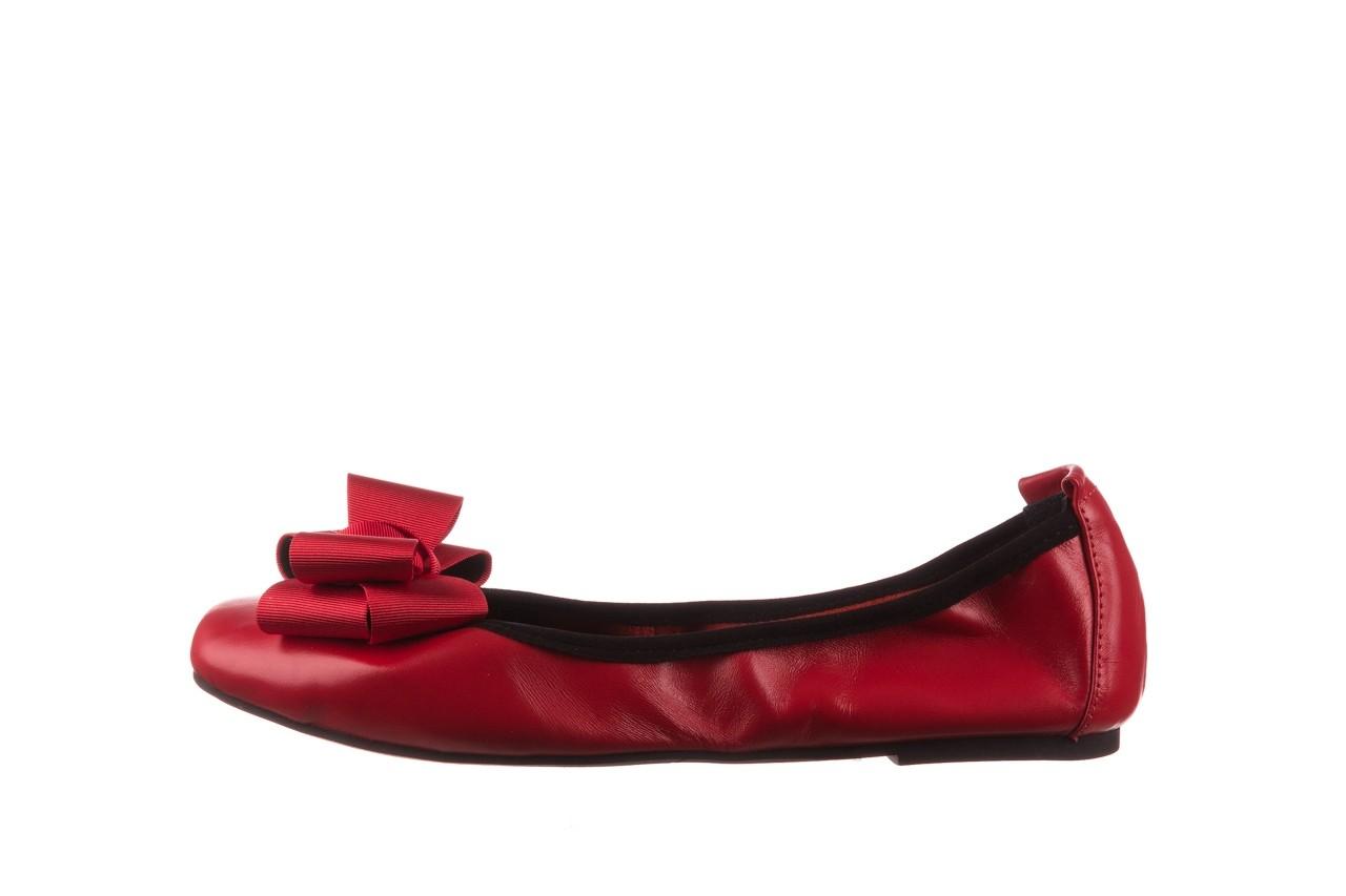 Baleriny viscala 11870.32 czerwony, skóra naturalna - skórzane - baleriny - buty damskie - kobieta 12