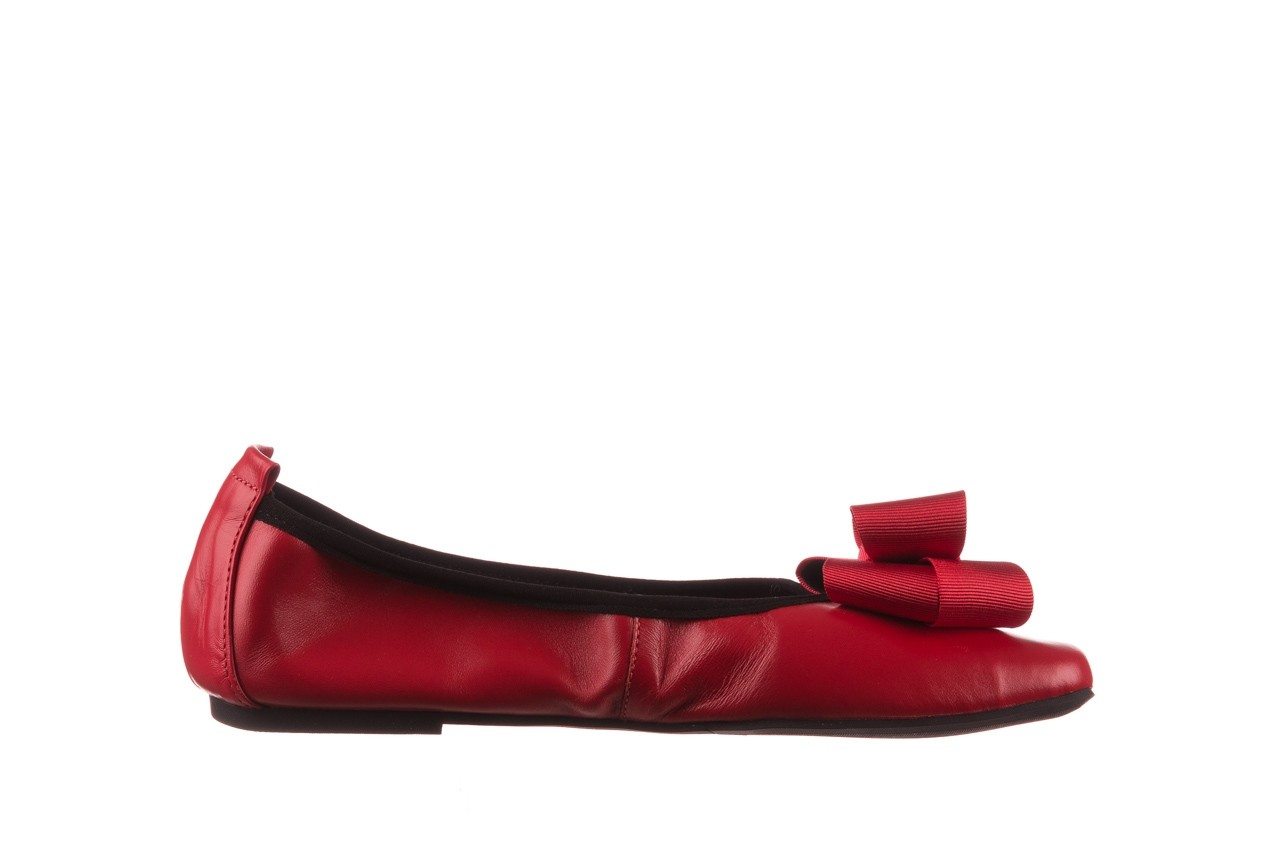 Baleriny viscala 11870.32 czerwony, skóra naturalna - skórzane - baleriny - buty damskie - kobieta 10