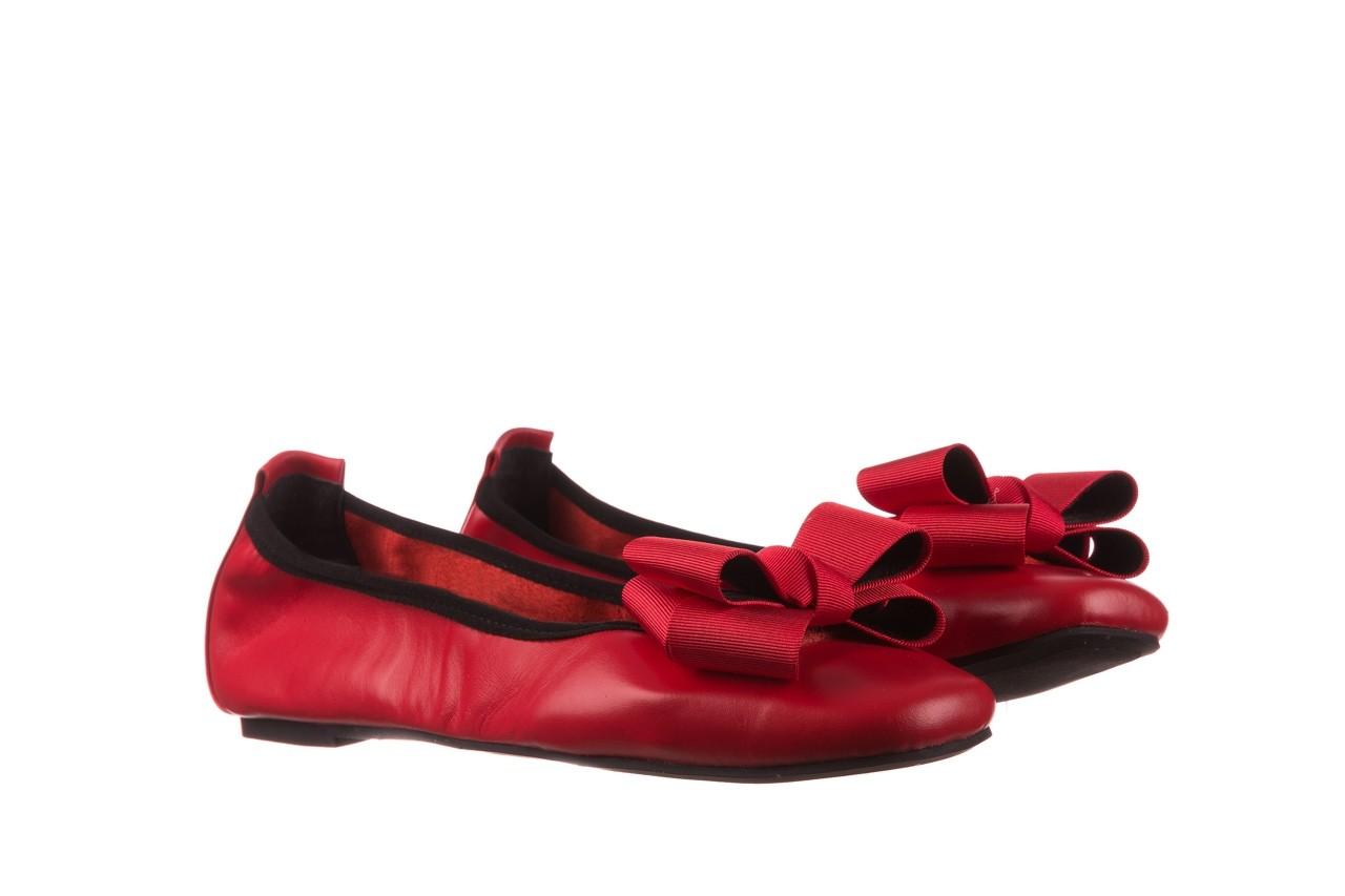 Baleriny viscala 11870.32 czerwony, skóra naturalna - skórzane - baleriny - buty damskie - kobieta 11