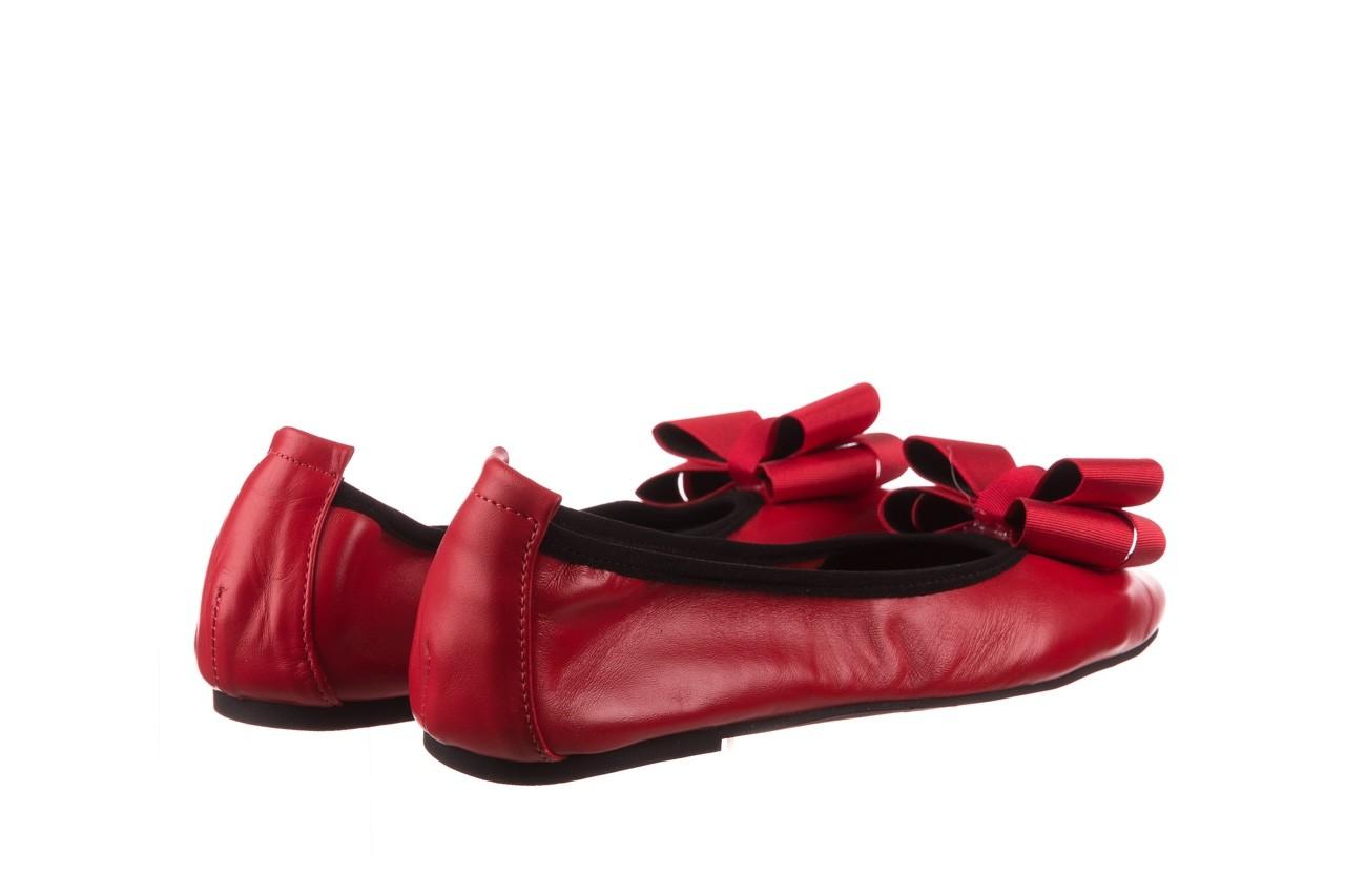 Baleriny viscala 11870.32 czerwony, skóra naturalna - skórzane - baleriny - buty damskie - kobieta 13