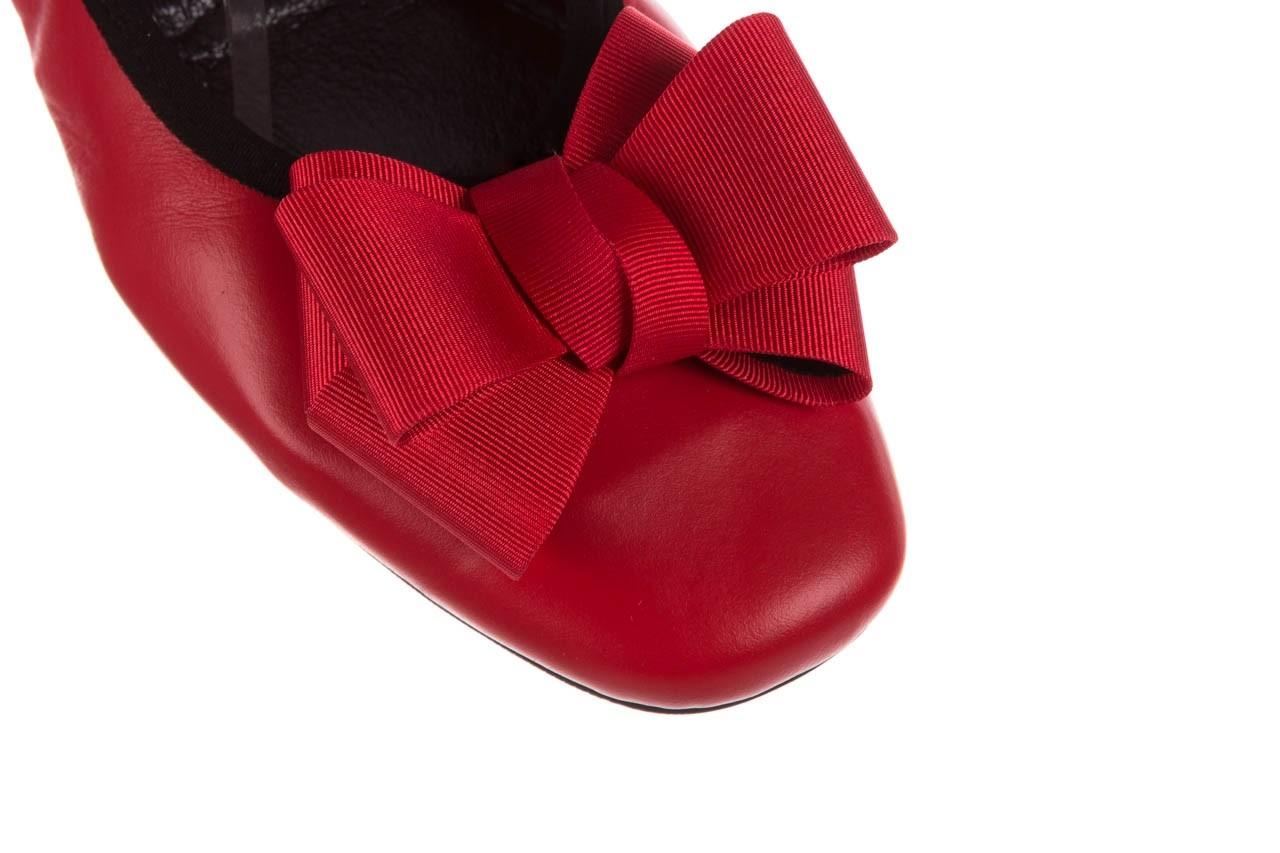 Baleriny viscala 11870.32 czerwony, skóra naturalna - skórzane - baleriny - buty damskie - kobieta 15