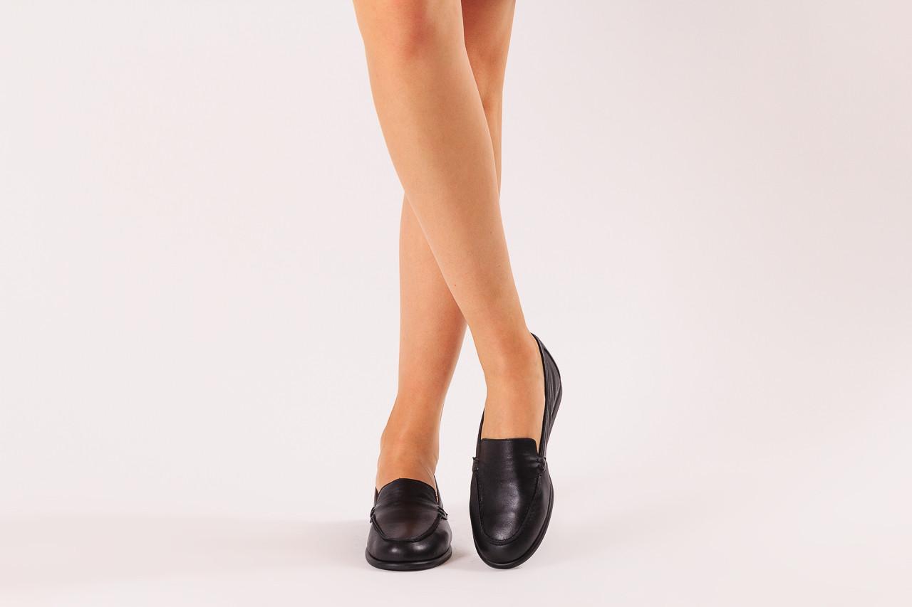 Półbuty bayla-196 168504 d44 196015, czarny, skóra naturalna  - skórzane - półbuty - buty damskie - kobieta 11