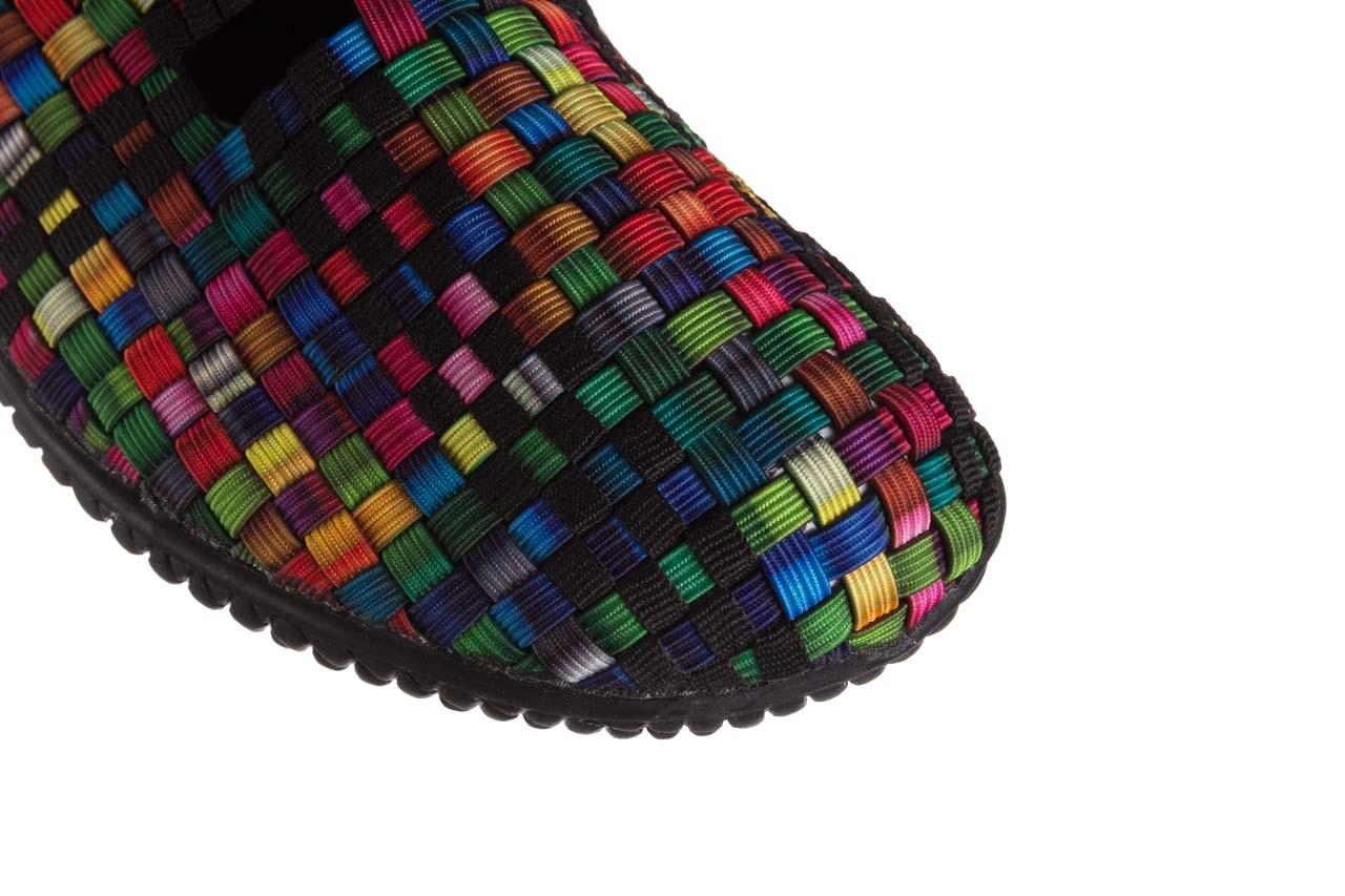 Półbuty rock free step 20 tutti frutti black, czarny, materiał  - wsuwane - półbuty - buty damskie - kobieta 12