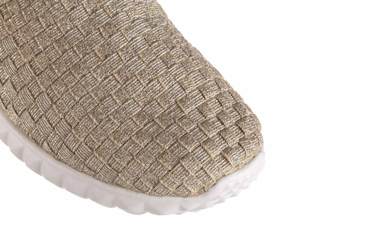 Półbuty rock nina lt gold, złoty, materiał  - półbuty - buty damskie - kobieta 12
