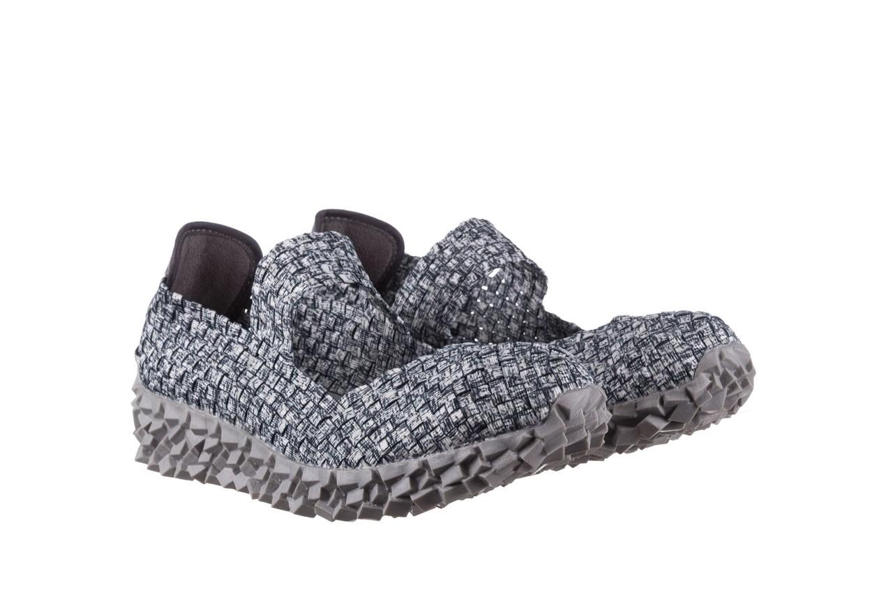 Półbuty rock koala black grey s smoke, biały/ szary, materiał  - kobieta 8