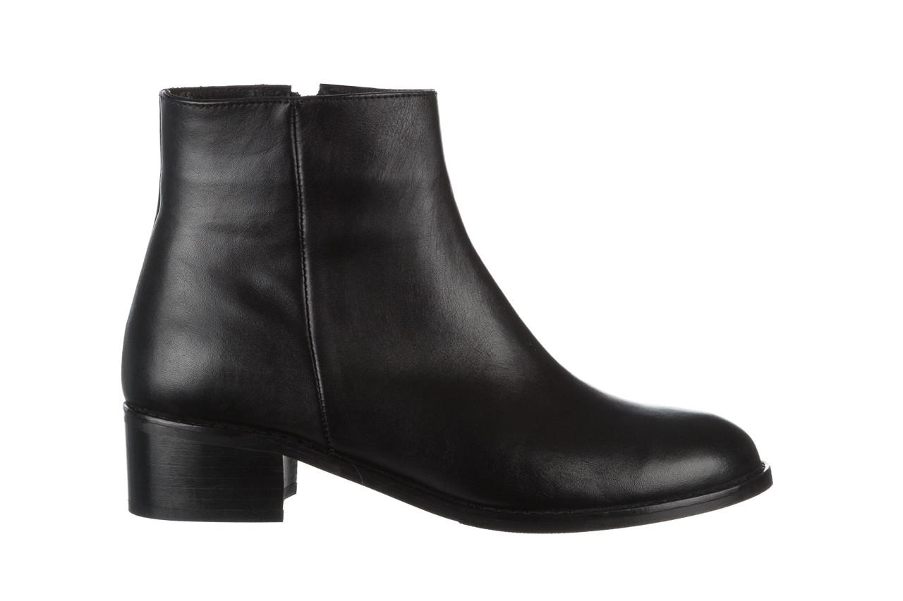Botki bayla 161 077 47464 black 161183, czarny, skóra naturalna  - botki - buty damskie - kobieta 8