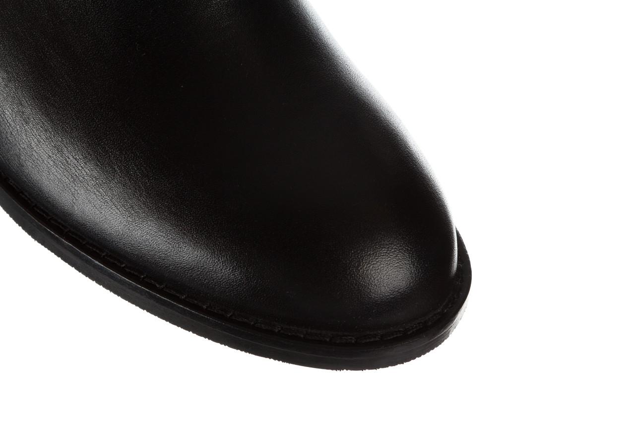 Botki bayla 161 077 47464 black 161183, czarny, skóra naturalna  - botki - buty damskie - kobieta 13