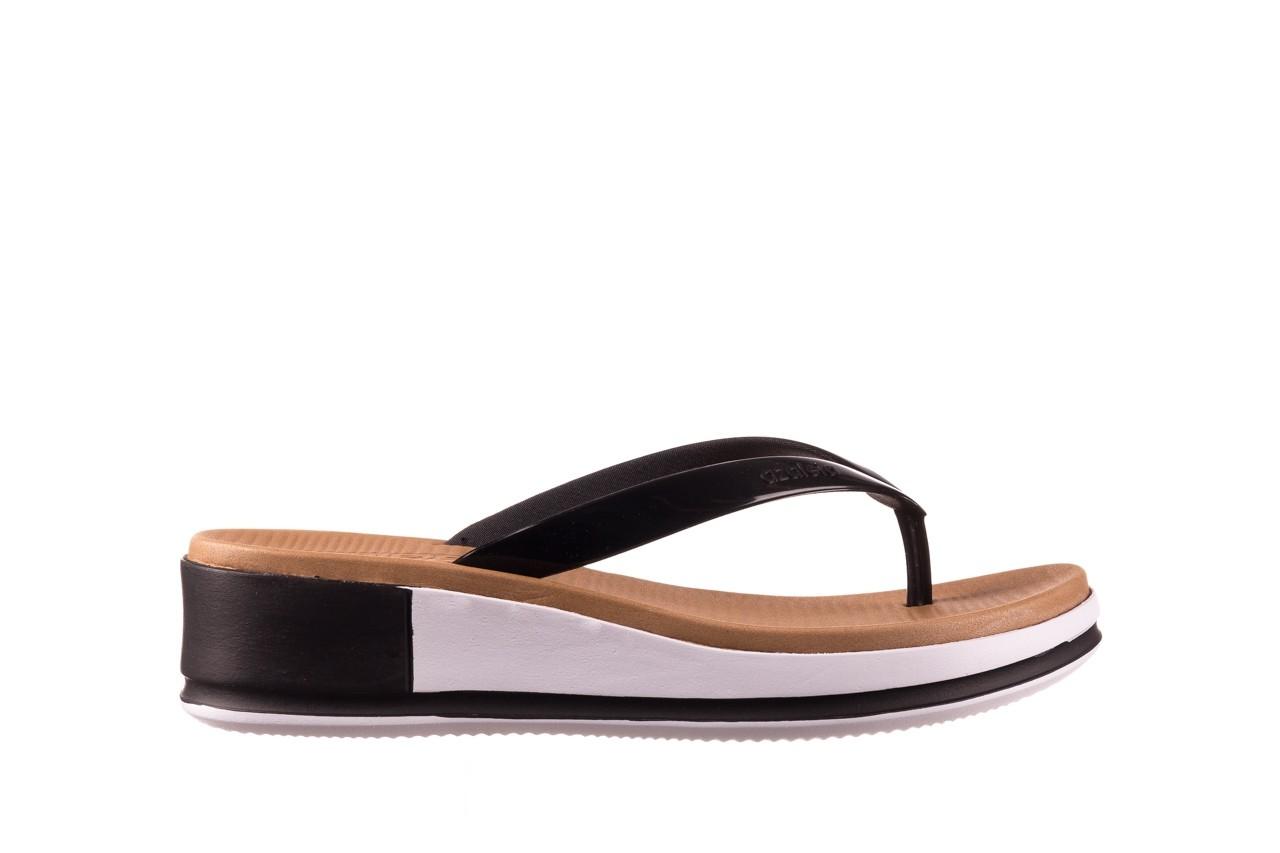 Klapki azaleia 281 517 black, czarny, guma - japonki - klapki - buty damskie - kobieta 7