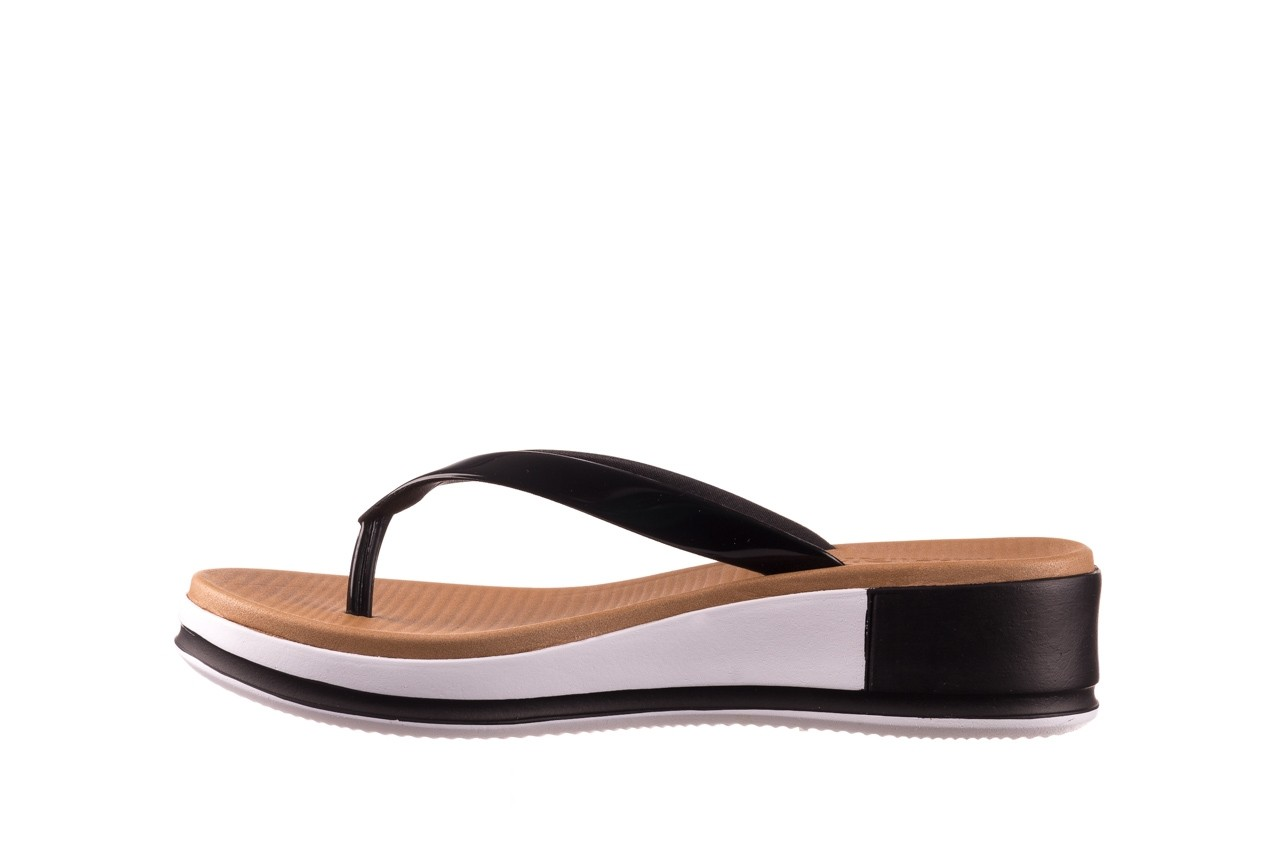 Klapki azaleia 281 517 black, czarny, guma - japonki - klapki - buty damskie - kobieta 9