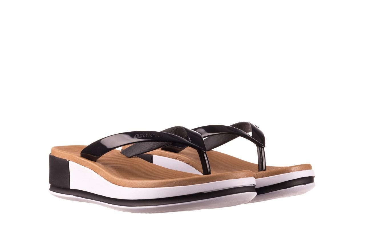 Klapki azaleia 281 517 black, czarny, guma - japonki - klapki - buty damskie - kobieta 8