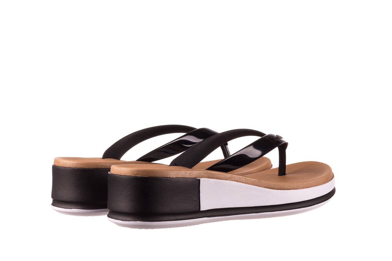 Klapki azaleia 281 517 black, czarny, guma - japonki - klapki - buty damskie - kobieta 10
