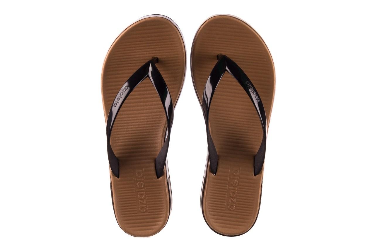Klapki azaleia 281 517 black, czarny, guma - japonki - klapki - buty damskie - kobieta 11