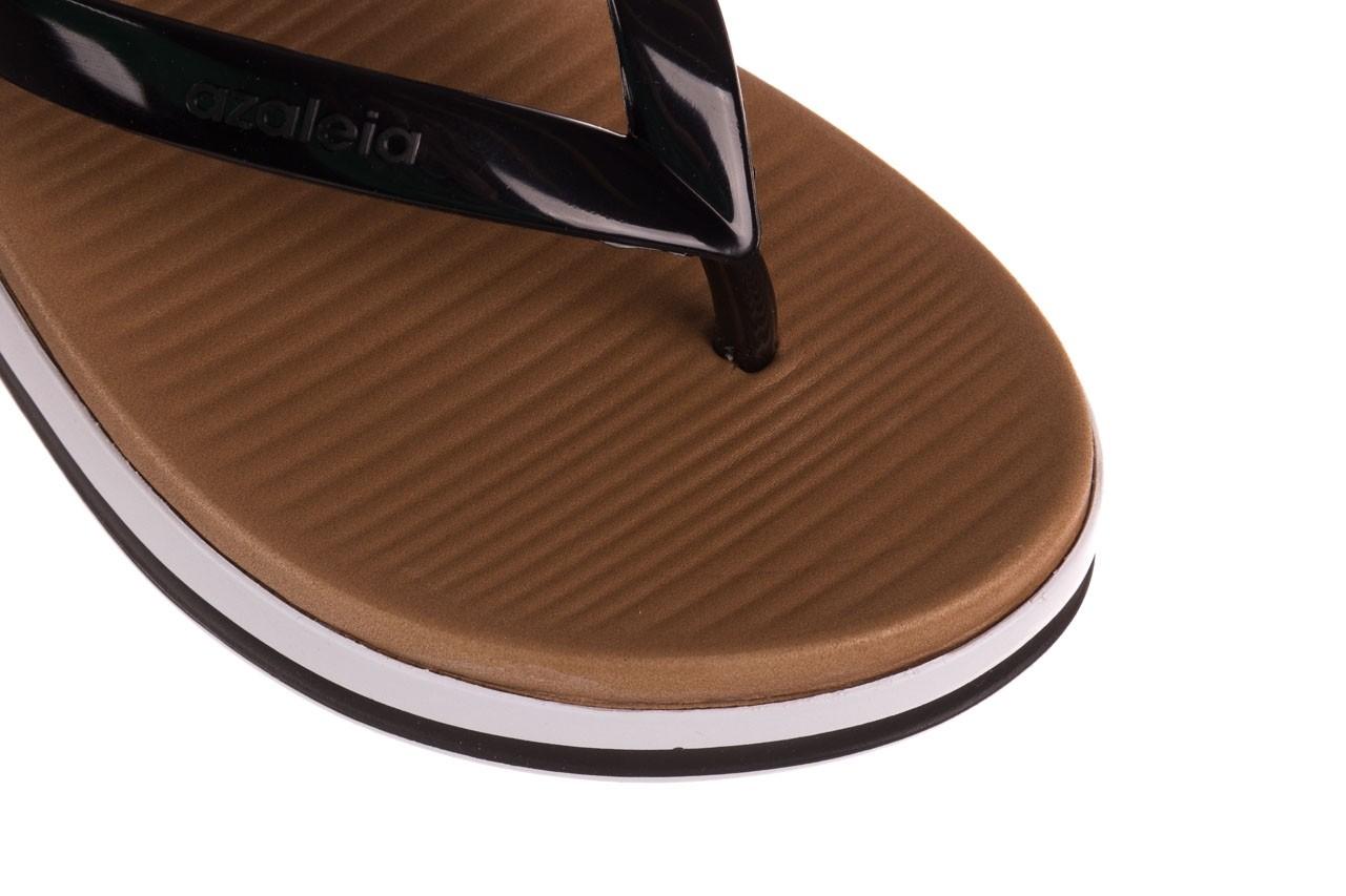 Klapki azaleia 281 517 black, czarny, guma - japonki - klapki - buty damskie - kobieta 12