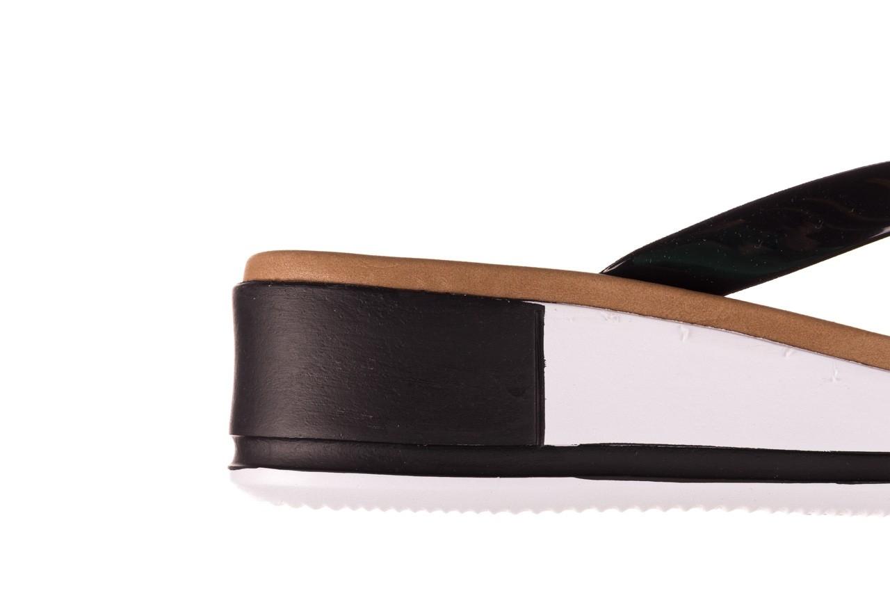 Klapki azaleia 281 517 black, czarny, guma - japonki - klapki - buty damskie - kobieta 13