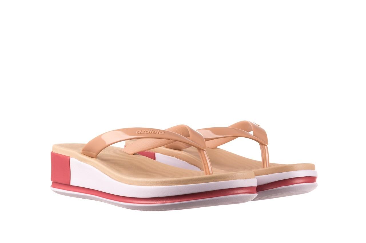 Klapki azaleia 281 517 nude multi, beż, guma - japonki - klapki - buty damskie - kobieta 8