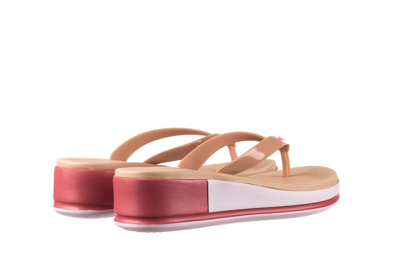 Klapki azaleia 281 517 nude multi, beż, guma - japonki - klapki - buty damskie - kobieta 10