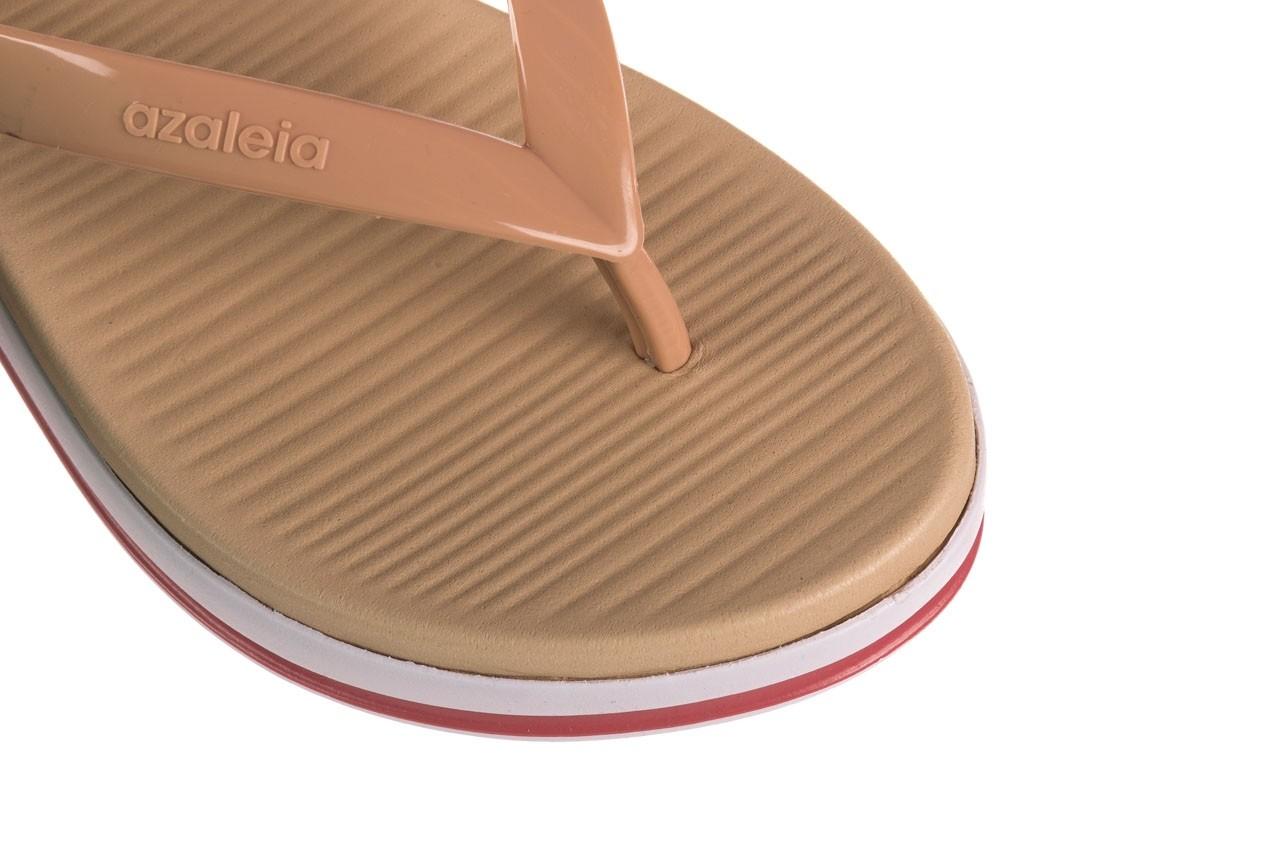 Klapki azaleia 281 517 nude multi, beż, guma - japonki - klapki - buty damskie - kobieta 12