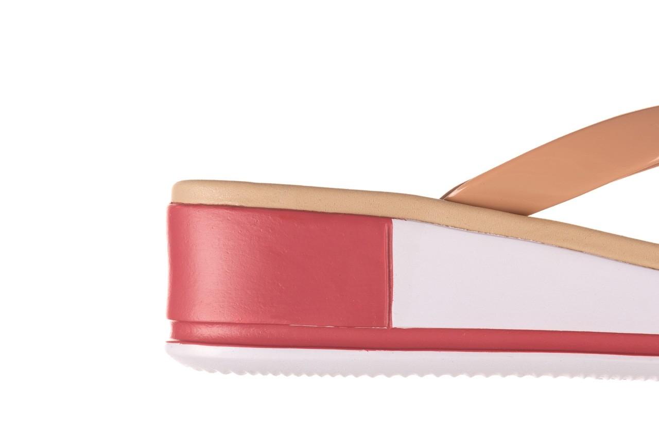 Klapki azaleia 281 517 nude multi, beż, guma - japonki - klapki - buty damskie - kobieta 13