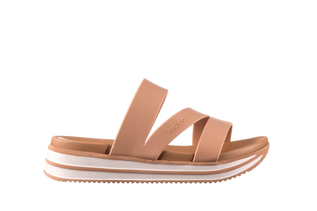 Klapki azaleia 260 496 nude, beż, guma  - klapki - buty damskie - kobieta 8