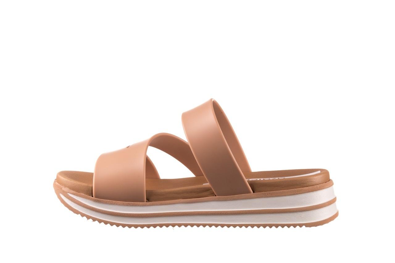 Klapki azaleia 260 496 nude, beż, guma  - klapki - buty damskie - kobieta 10