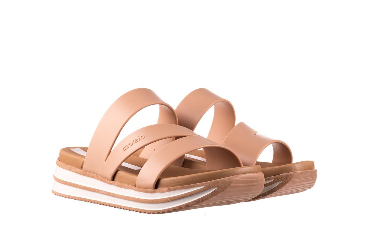 Klapki azaleia 260 496 nude, beż, guma  - klapki - buty damskie - kobieta 9